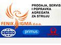 Fenix Igma  - prodaja, servis i popravka agregata za struju