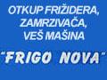 Otkup frižidera, zamrzivača, veš mašina i polovne bele tehnike Frigo Nova