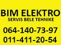 Bim elektro servis bele tehnike
