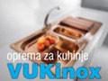 Oprema za kuhinje Vuk Inox