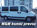 M&M kombi prevoz putnika