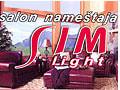Salon namestaja Sim Light