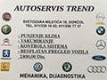 Auto servis Trend