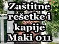 Zaštitne rešetke i kapije Maki 011