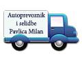 Autoprevoznik i selidbe Pavlica Milan