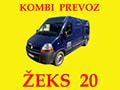 Žeks 20 Kombi prevoz