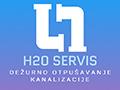 H2O servis Dežurno otpušavanje kanalizacije