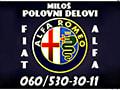 Alfa Romeo delovi Miloš