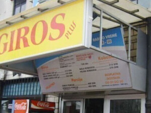 Giros Beograd dostava
