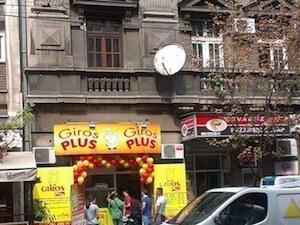 Fast Food Giros Plus dostava Beograd