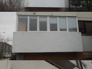 Zastakljivanje terasa - PVC prozori - Crvena linija pvc i alu stolarija