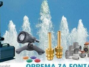 10. Prodaja pumpi i ostale opreme za fontane