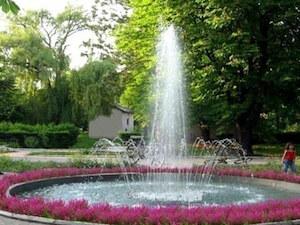 14. Fontana u parku u Golubincima