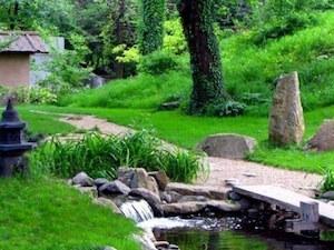 18. Japanski vrt u Botaničkoj bašti Jevremovac u Beogradu