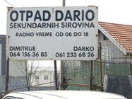 Otkup sekundarnih sirovina Dario-Slike