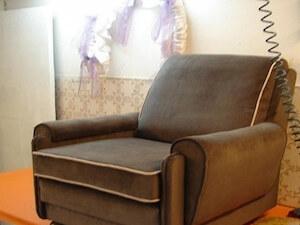 Fotelja presvlačenje štof