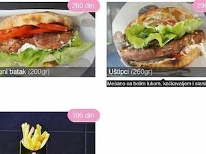 Dostava salate Pile i Prase