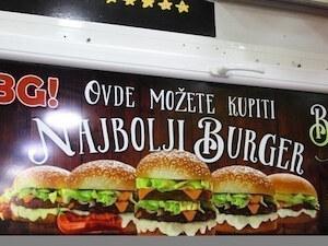 Fast food dostava na Vračaru