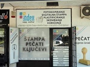 Narezivanje i graviranje pečata Novi Beograd