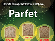 Beskvasni hleb Parfet slike