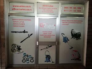 Aries - remont servo letvi i pumpi