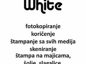 Fotokopirnica Black and White Copy