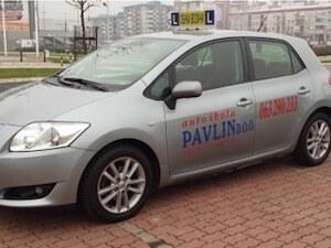 Obuka vozaca B kategorije Novi Beograd