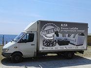 Kamionski prevoz Alisa