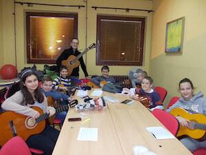 Škola gitare Starčević Novi Beograd