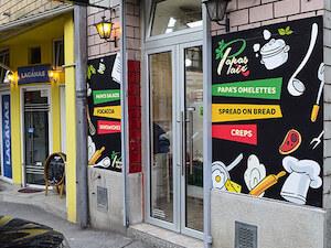Fast food Papa's Paté