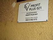 Knjigovodstvena agencija Profit Plus 021