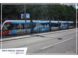 IMG bus advertising
