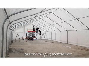 Montažne, industrijske hale i šatori Peprom Beograd