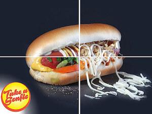 Fast food Take a Senfie
