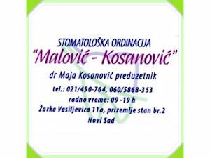 Stomatološka ordinacija Malović Kosanović