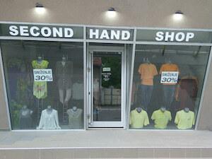 Butik Second hand shop BG