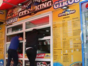 City king fast food