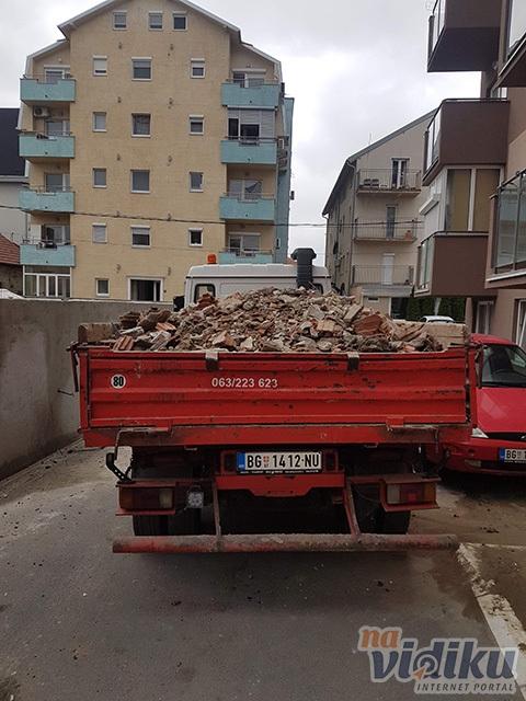 Prevoz građevinskog materijala Saša Stanisavljević