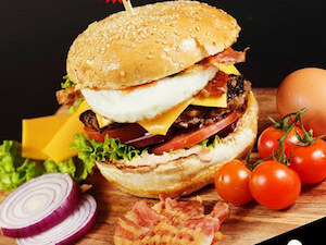 Burgers by Manzoni
