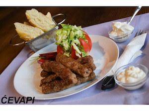 Barbecue Balkan food