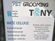 Pet grooming Tony