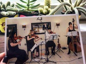 KOMIKA - Gudački kvartet za proslave