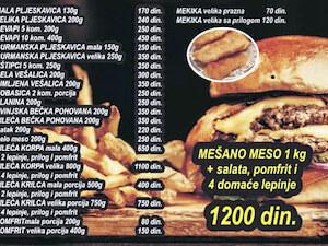 EKO VULKAN Fast food