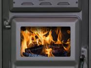 Peć na drva - Čarobna peć (crna)