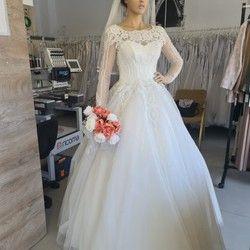 Raskošna venčanica princeza kroja (iznajmljivanje)