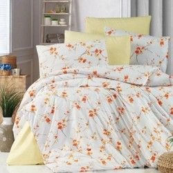 Posteljina za bračni krevet Ranfors 100% pamuk (proširena)