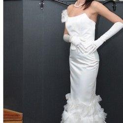 Komplet za venčanje: korset i suknja u beloj boji (veličine 38 i 40) - SUPER cena!