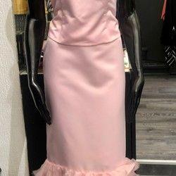 Komplet za venčanje: saten korset i suknja (broj 42) - SUPER cena!