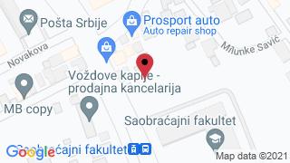 Auto plac Vozdovac