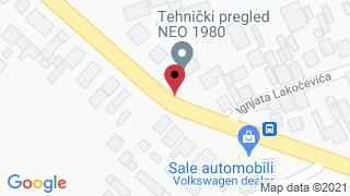 Auto perionica Bogdanovic